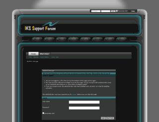 ikssupport.com.co screenshot