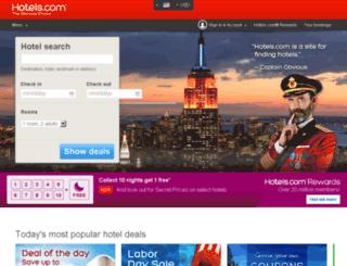 il.hotels.com screenshot