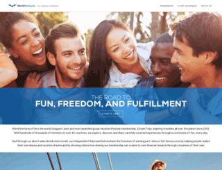 ila.worldventures.com screenshot