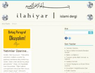 ilahiyar.com screenshot