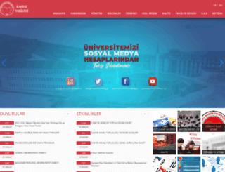 ilahiyat.bozok.edu.tr screenshot