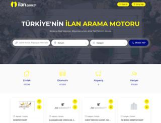 ilan.com.tr screenshot