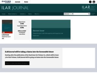 ilarjournal.oxfordjournals.org screenshot