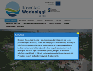 ilawskiewodociagi.pl screenshot