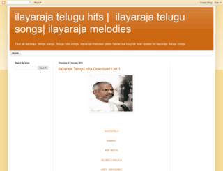 ilayarajahitstelugu.blogspot.in screenshot
