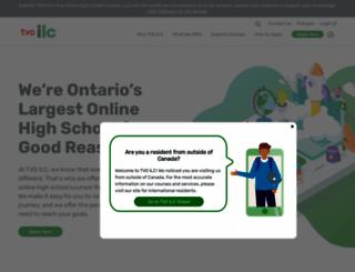 ilc.org screenshot