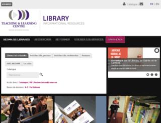 ilc.rouenbs.fr screenshot