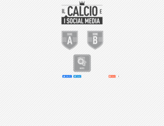 ilcalcioeisocialmedia.it screenshot