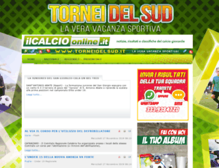 ilcalcioonline.it screenshot
