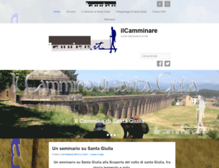 ilcamminare.it screenshot