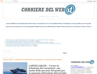 ilcorrieredelweb.blogspot.com screenshot