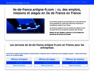 ile-de-france.enligne-fr.com screenshot