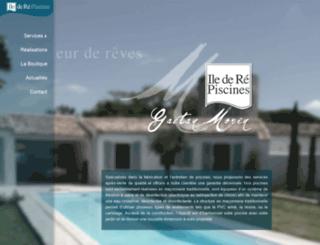 iledere-piscines.com screenshot