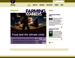 ileia.org screenshot