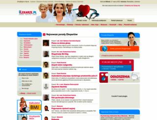 ilekarze.pl screenshot