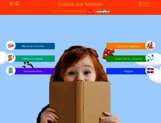 iletaitunehistoire.com screenshot