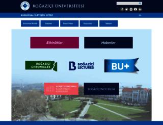 iletisim.boun.edu.tr screenshot