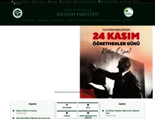 iletisim.cu.edu.tr screenshot