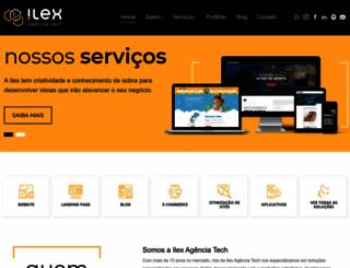 ilexsolutions.com.br screenshot