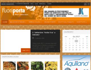 ilfuoriporta.com screenshot