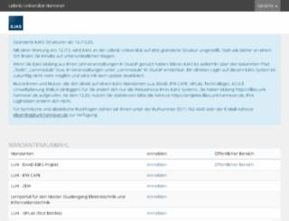 ilias.uni-hannover.de screenshot
