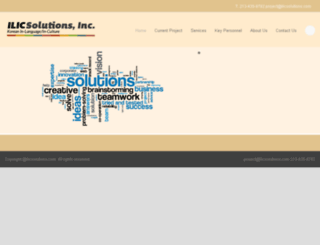 ilicsolutions.com screenshot