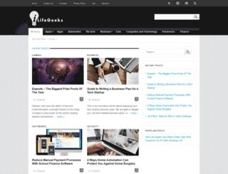 ilifegeeks.com screenshot
