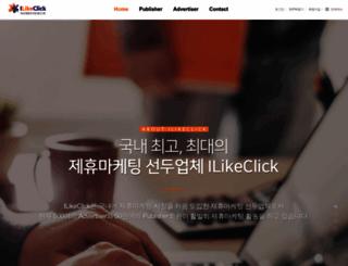 ilikeclick.com screenshot