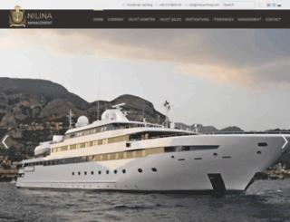 ilinayachting.com screenshot