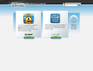 iliumsoft.com screenshot