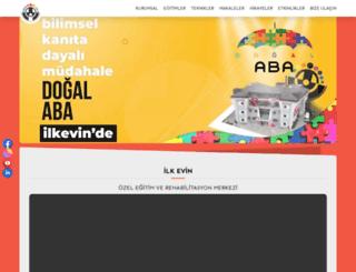 ilkevin.com.tr screenshot