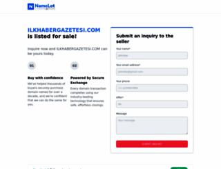 ilkhabergazetesi.com screenshot
