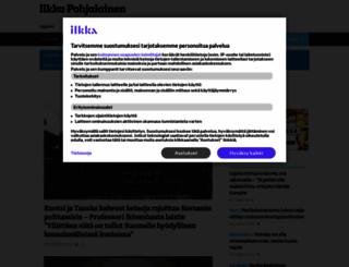 ilkka.fi screenshot