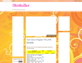 ilkokullar.blogspot.com screenshot