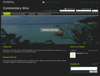 illegalpatchwor40.shutterfly.com screenshot