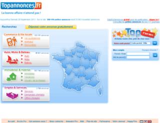 illico.topannonces.fr screenshot