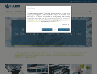 illies.com screenshot