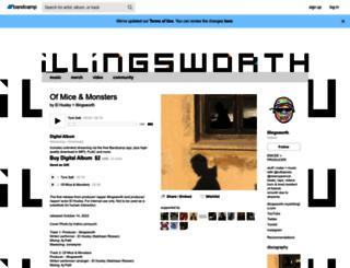 illingsworks.bandcamp.com screenshot