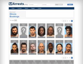 illinois.arrests.org screenshot