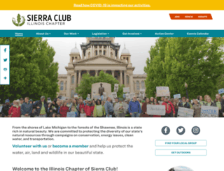 illinois.sierraclub.org screenshot