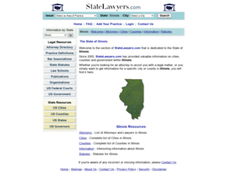illinois.statelawyers.com screenshot