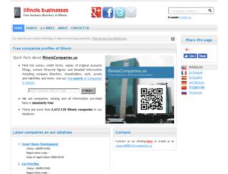 illinoiscompanies.us screenshot