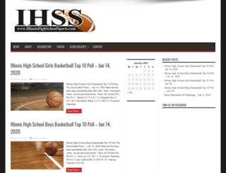 illinoishighschoolsports.com screenshot