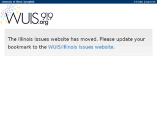 illinoisissues.uis.edu screenshot
