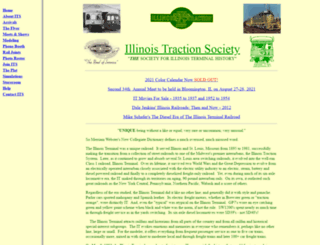 illinoistractionsociety.org screenshot