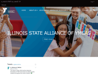 illinoisymcas.org screenshot