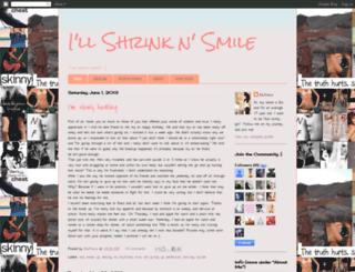 illshrinknsmile2.blogspot.com screenshot