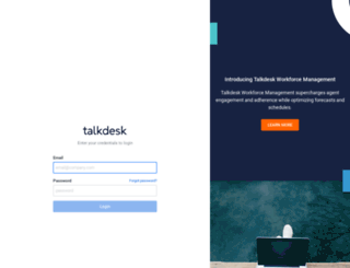 illuminate.mytalkdesk.com screenshot