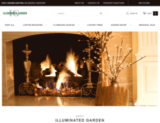 illuminatedgarden.com screenshot
