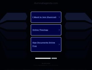 illuminatiagenda.com screenshot
